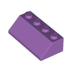 Schrägstein 2x4, violett