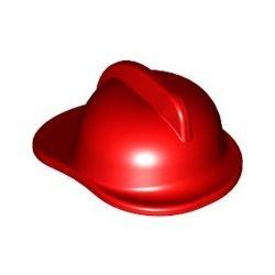 Feuerwehrhelm, rot