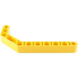 Lochbalken 1 x 11.5 dick, doppelt abgewinkelt, gelb