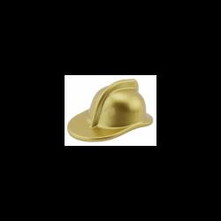 Feuerwehrhelm, gold metallic