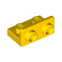 Winkel 1x2 - 1x2 inv, gelb