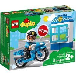 DUPLO Polizeimotorrad
