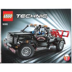 Bauanleitung 9395 Pick-Up Tow Truck
