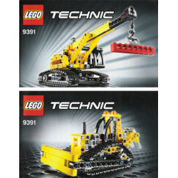 Bauanleitung 9391 Crawler Crane