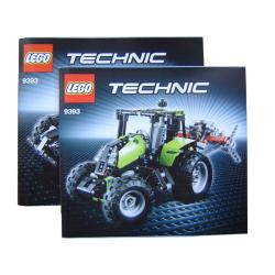 Bauanleitung 9393 Tractor