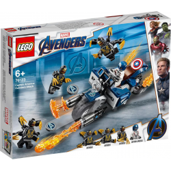 Captain America: Outrider-Attacke