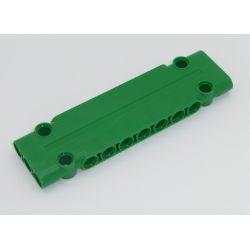 Paneele 3 x 11 x 1 mit 4 Pinlöchern, grün