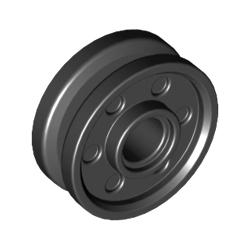Felge 18mm x 8mm, schwarz