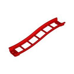 Achterbahn Schiene 2x16x3, Rampe, rot