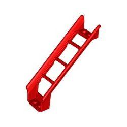 Achterbahn Schiene 2x8x6, Rampe, rot