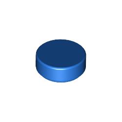 Fliese / Kachel 1x1 rund, blau