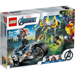 Avengers Speeder-Bike Attacke