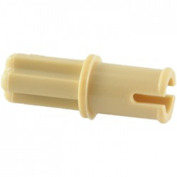 Achse - Pin (ohne Reibung), beige