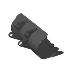 Baggerschaufel 8x10, schwarz
