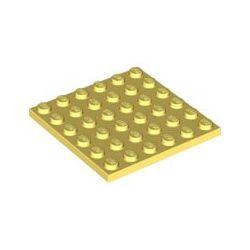 Platte 6x6, hellgelb