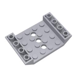 Schrägstein 6x4 inv, hellgrau