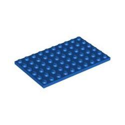 Platte 6x10, blau