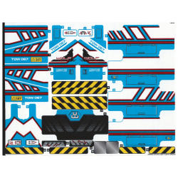 Sticker 42070 6x6 All Terrain Tow Truck