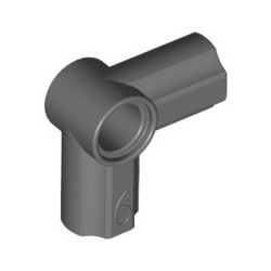 Achsen- und Pinverbindung 6 - 90 Grad, dunkelgrau