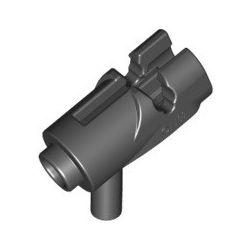 Miniblaster mit Schussfunktion, schwarz